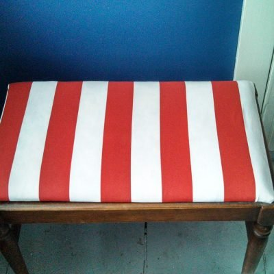 DIY Nautical Bench