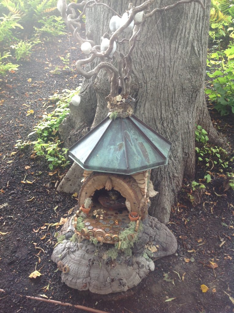 Visiting The Fairy Houses At Highfield Hall