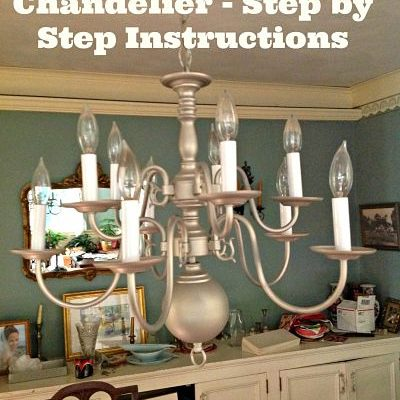 Revamp an Outdated Chandelier!