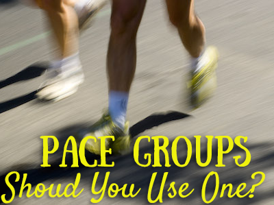 Pace Groups ~ Should You Use One?