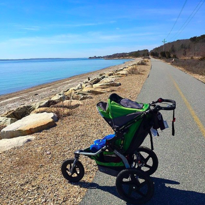 Stroller Miles and a Family Trip to Maine!