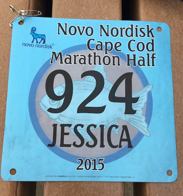 Cape Cod Marathon Half 2015 Number