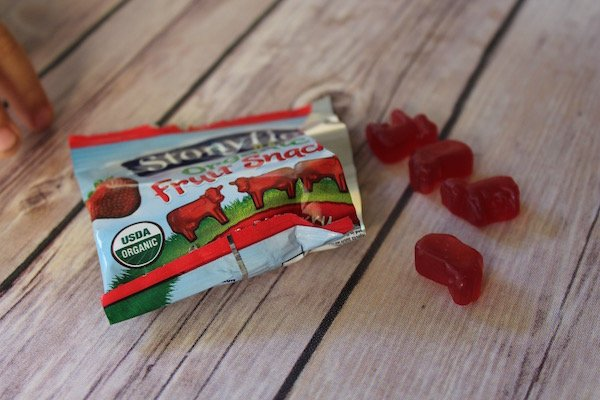 Stonyfield Fruit Snack Packet