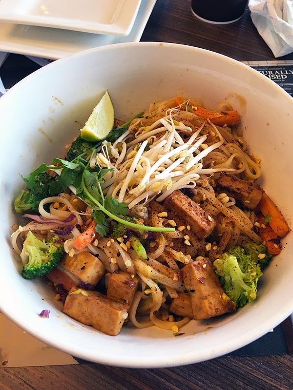 Noodles and Company Indian Peanut Saute with Tofu