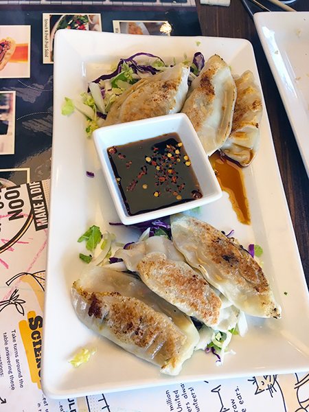 Noodles and Company Potstickers
