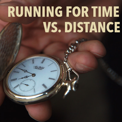 Running for time vs. distance