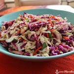 Asian Coleslaw close-up