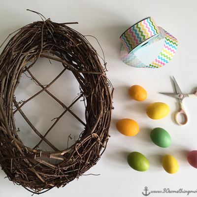 Make an Adorable Easter Wreath (in 15 Minutes!)