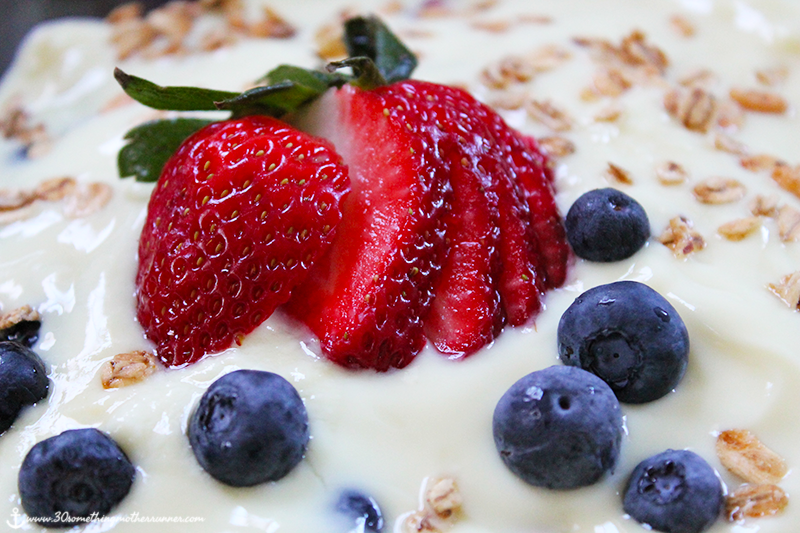 Yogurt, Berry and Granola Breakfast Trifle