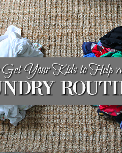 How to Get Your Kids to Help Out With the Laundry Routine PT