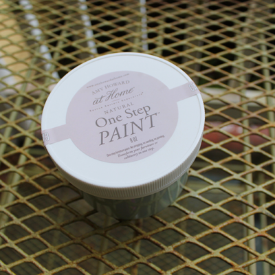 Painting Wicker Furniture with Chalk Paint