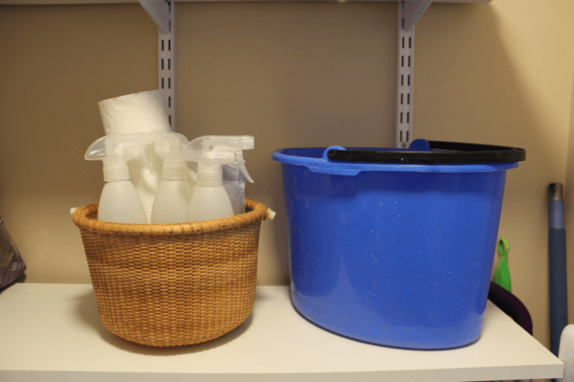 Pantry Cleaning Products Stock-up