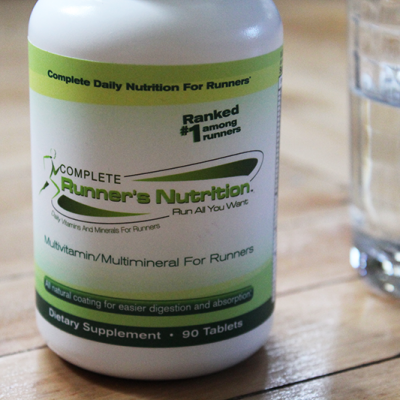 Complete Runner's Nutrition: An All-in-One Multivitamin for Runners