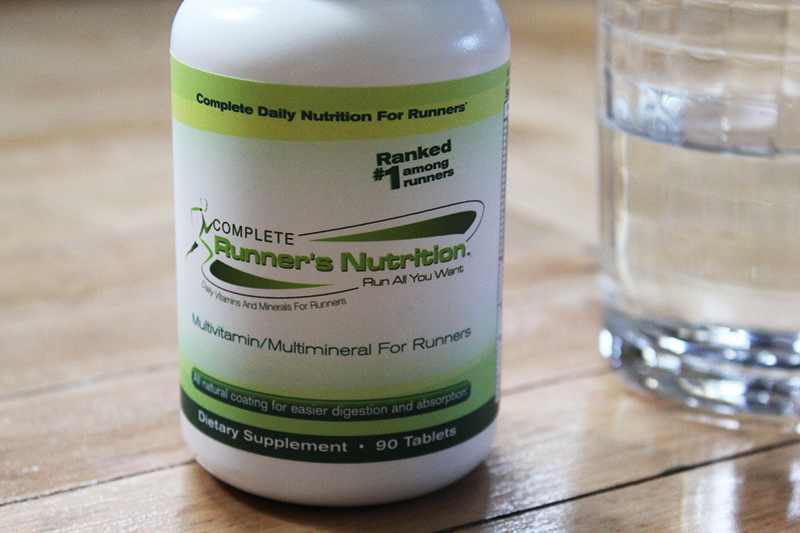 Complete Runner's Nutrition with Water