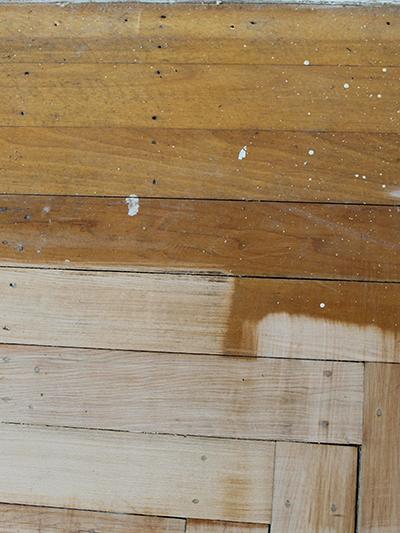 Sanded vs Unsanded Floor
