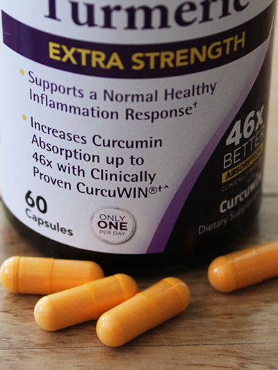 Natrol Extra Strength Turmeric Feature