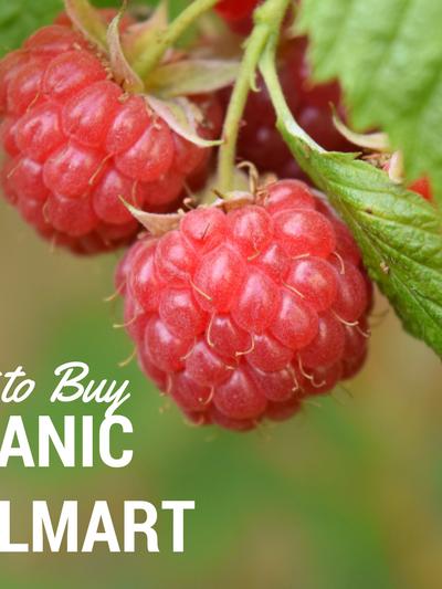 Buy Organic at Walmart