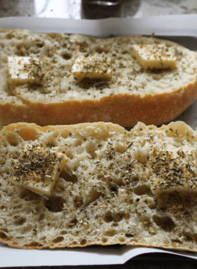 Tuscan Garlic Bread