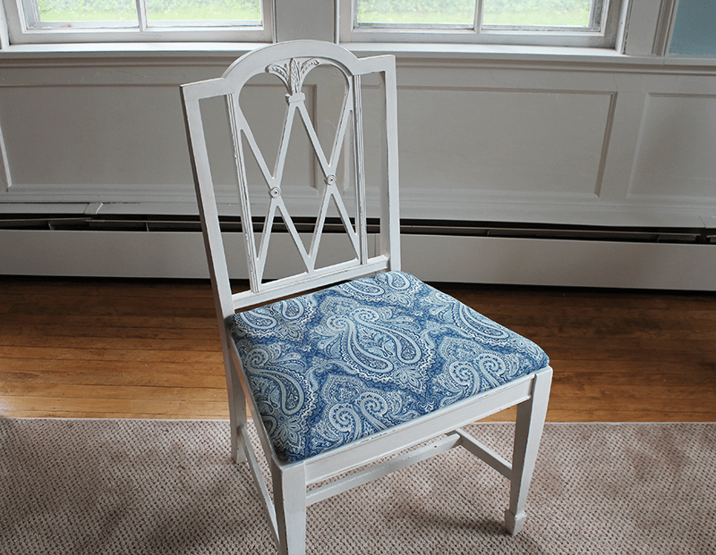 After Chalk Paint Dining Room Chair