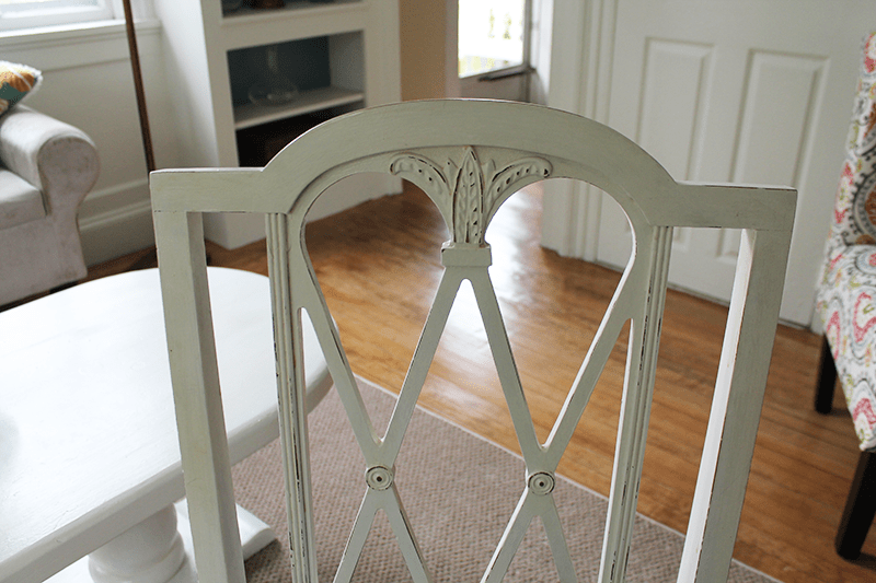 Chair Chalk Paint Distressed