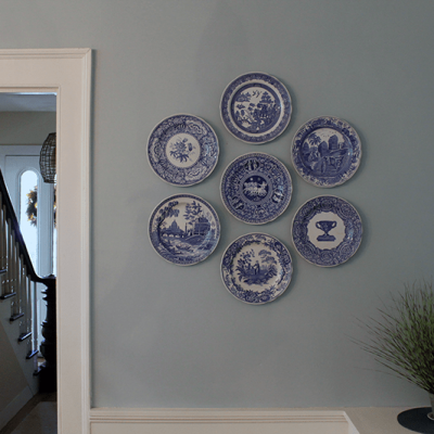 The Easiest Way to Hang Decorative Plates on Your Wall