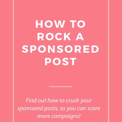 5 Ways to Rock Sponsored Posts