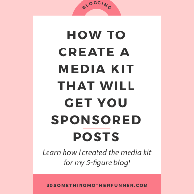 How to Create a Blogger Media Kit in Less than an Hour