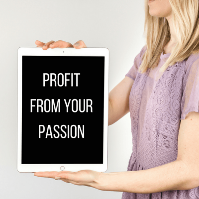 How to Profit from Your Passion in 30 Minutes or Less Each Day