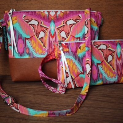 Beautiful Handmade Bags from Sack of Thread Designs