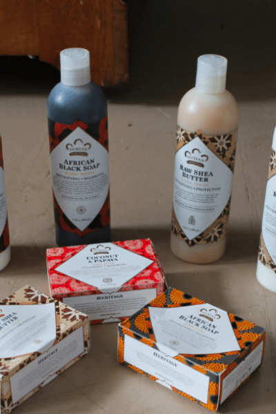 Nubian Heritage Skin Products