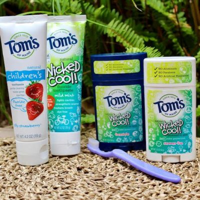 Get Back-to-School Ready with Tom's of Maine®!