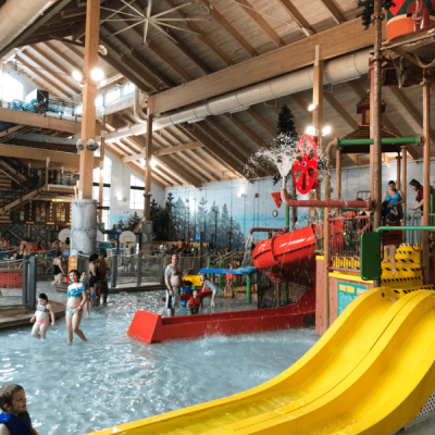 Play All Day at Great Wolf Lodge New England