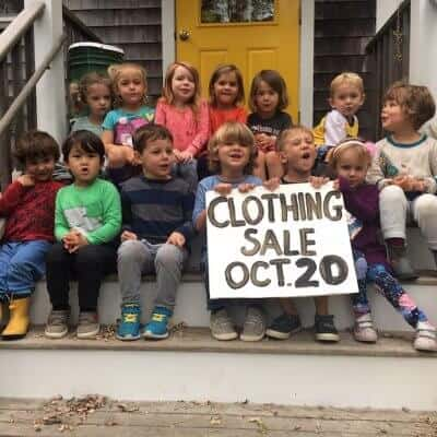Don't Miss the Woods Hole Child Center Clothing Sale!