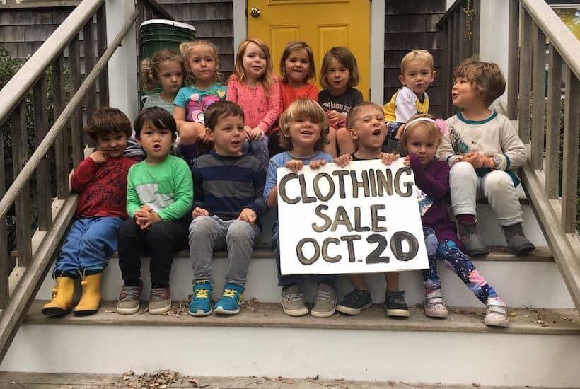 Woods Hole Child Center Clothing Sale