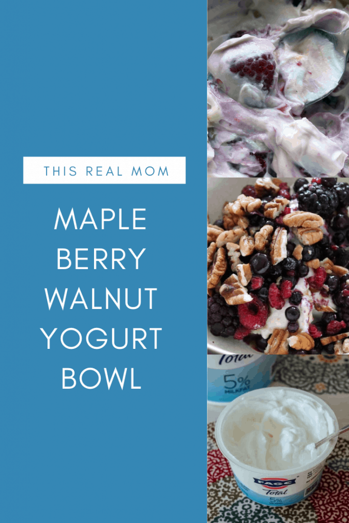 Maple Berry Walnut Yogurt Bowl
