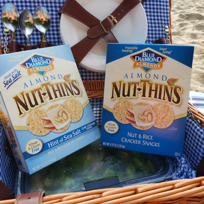 Nut-Thins ~ The Perfect Snack for Our On-the-go Family!